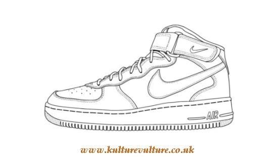 550x312 Nike Sneaker Outline Kulturevulture.co.uk