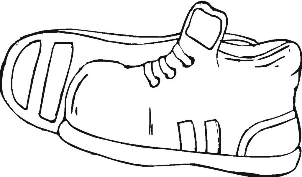 Outline Of Shoe