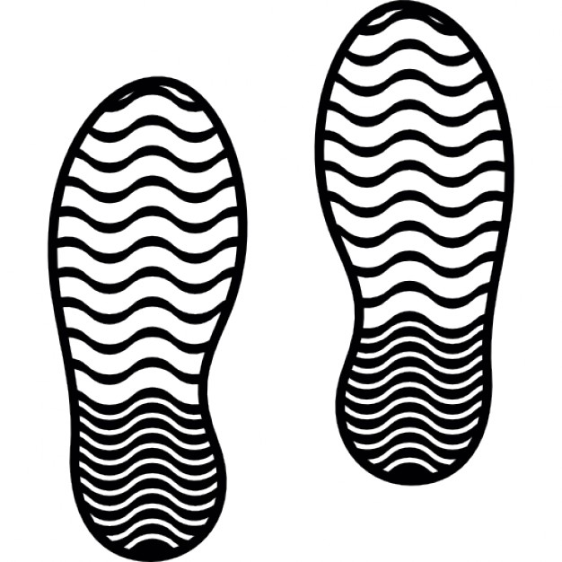 626x626 Shoes Prints Icons Free Download
