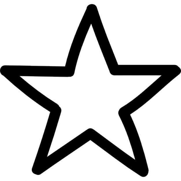 626x626 Star Outline Vectors, Photos And Psd Files Free Download
