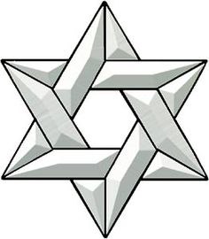236x270 Star Of David Pattern. Use The Printable Outline For Crafts