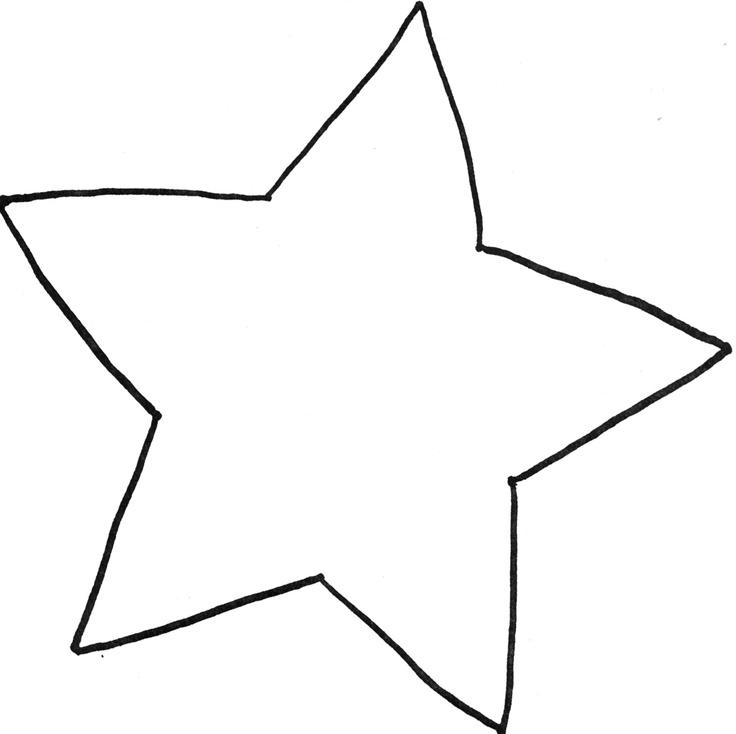 736x734 Best Star Template Ideas Star Template
