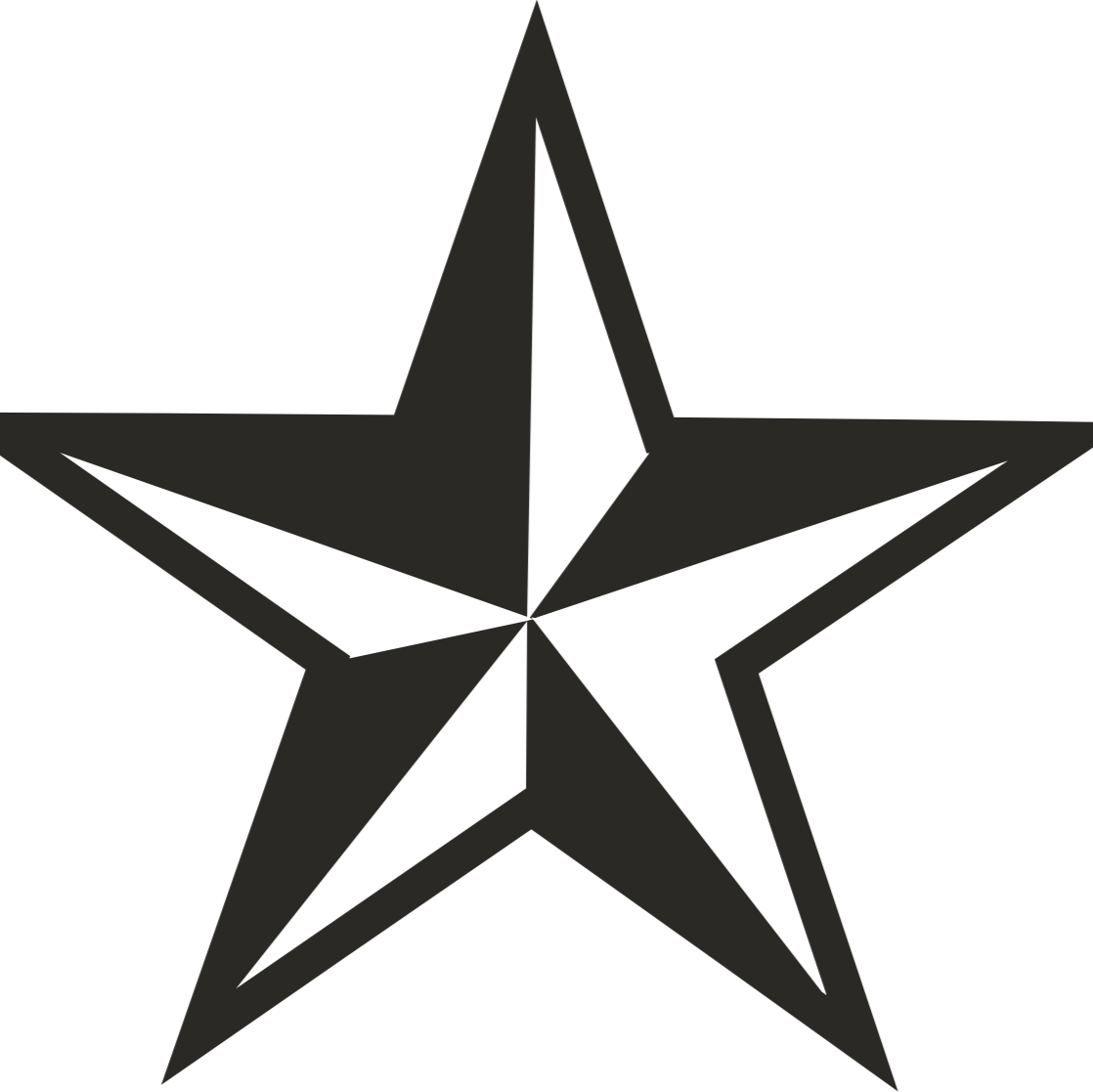 1118x1117 Stare Clipart Star Outline
