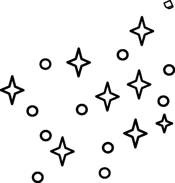 570x596 Stars Outline Clip Art