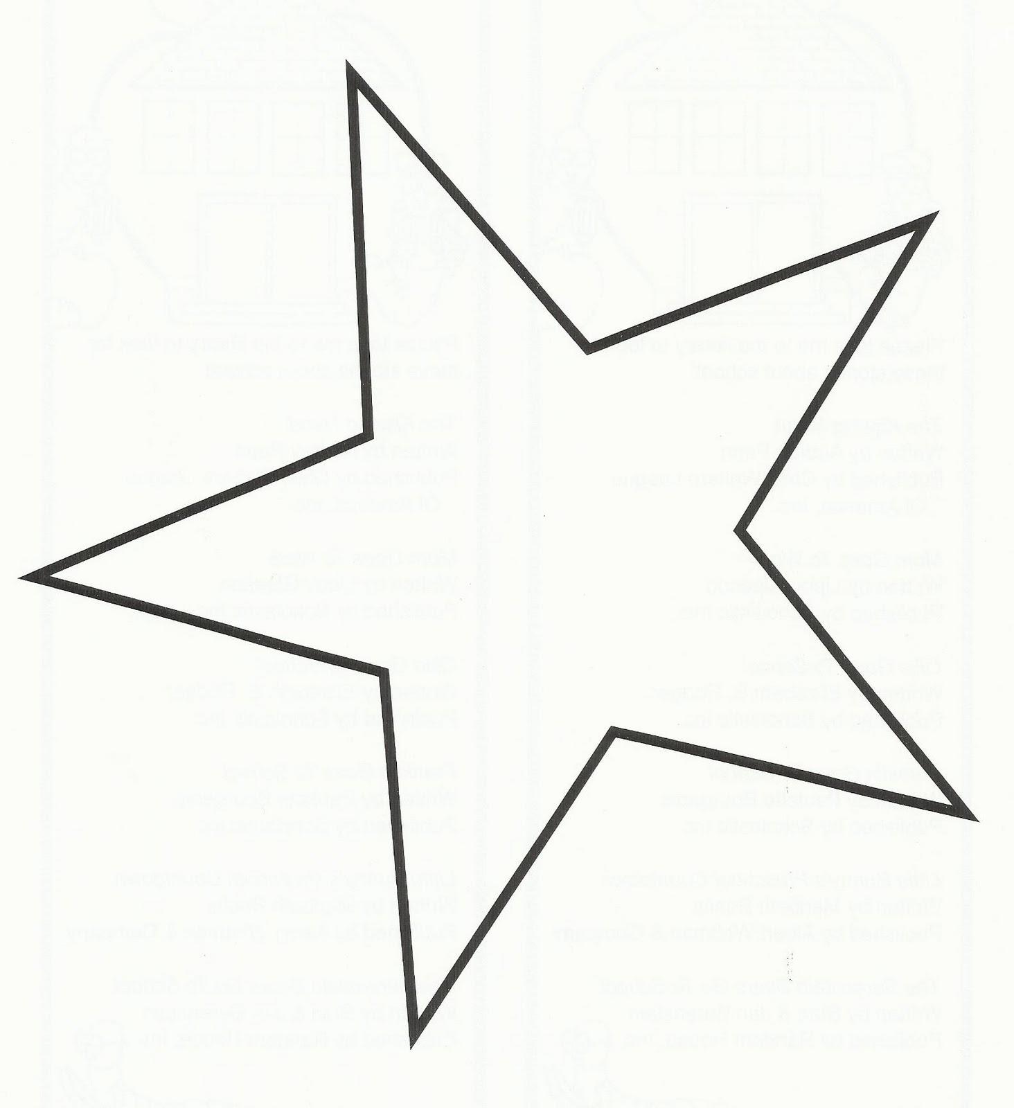 1464x1600 Best Star Outline