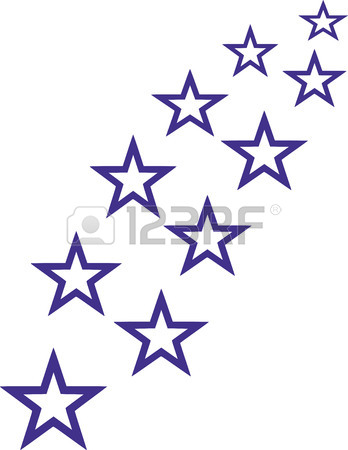 348x450 Three Stars Red Royalty Free Cliparts, Vectors, And Stock