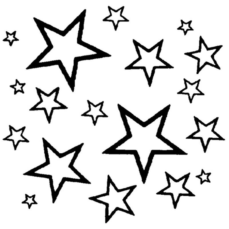 800x800 Drawn Stars Draw