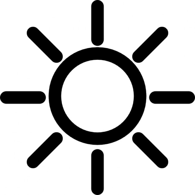 Outline Of Sun