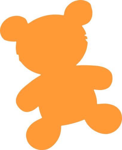 Outline Of Teddy Bear