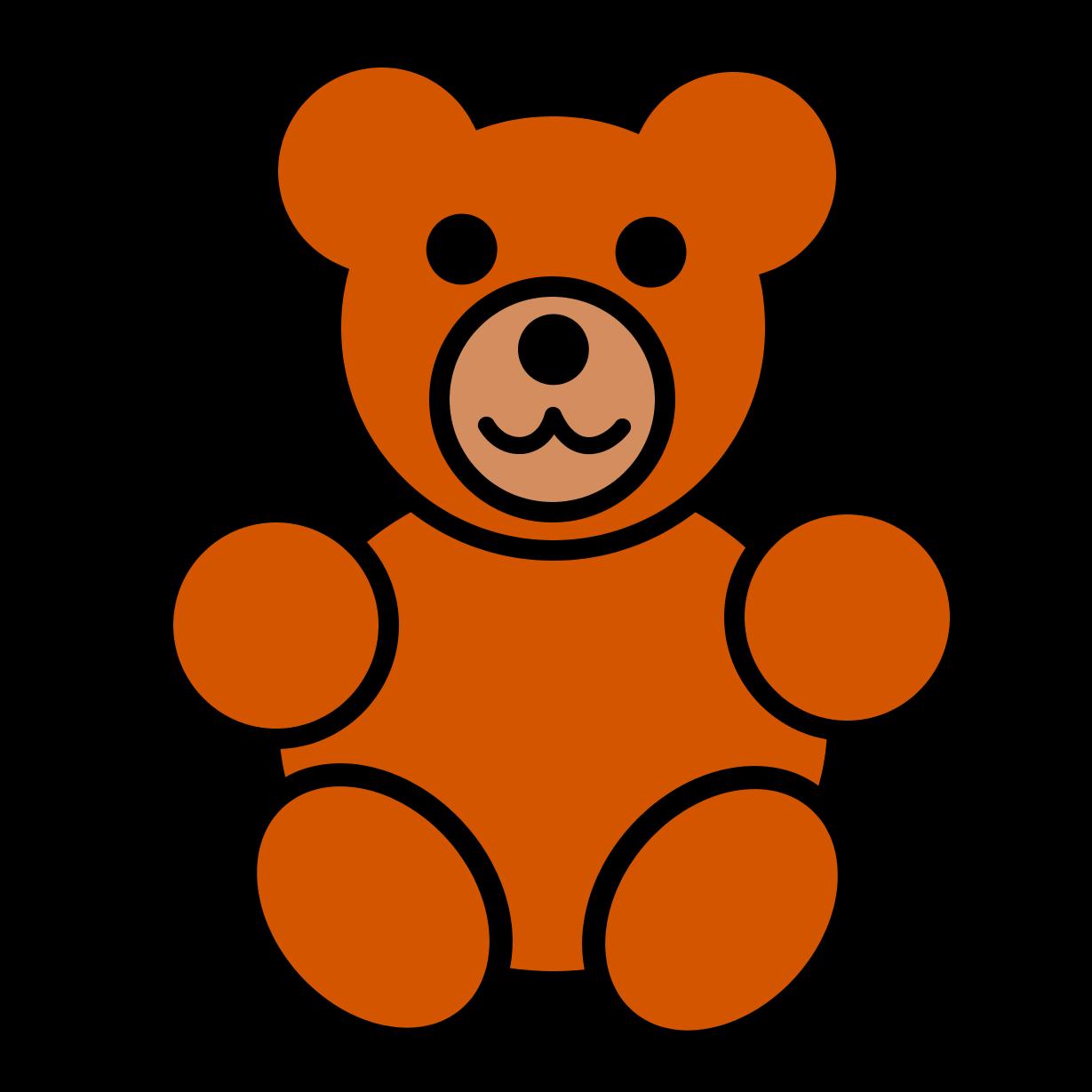 1229x1229 Free Teddy Bear Clipart
