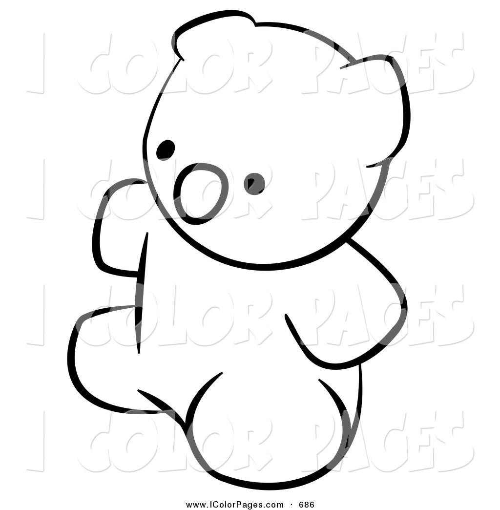 1024x1044 Great Outline Of A Teddy Bear Imagine Unknown Resolutions High