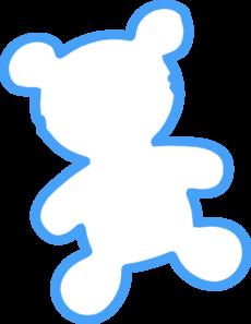 230x297 Bear Outline Clip Art