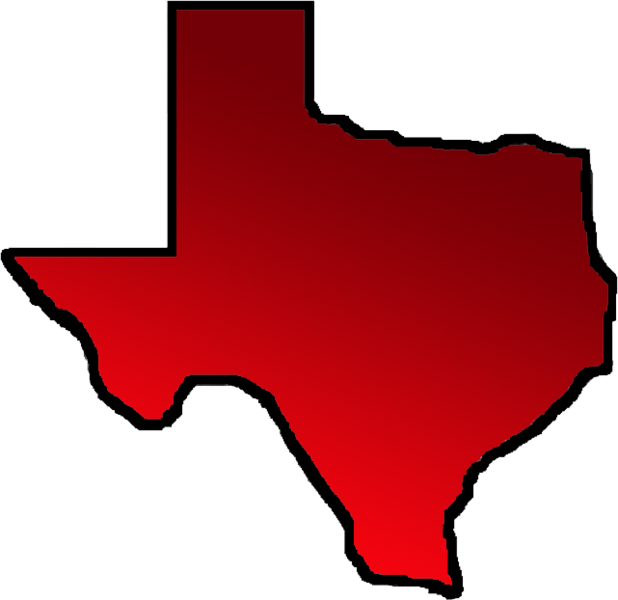 618x600 Texas Outline (Psd) Officialpsds