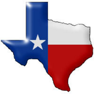 320x320 Texas Outline Clipart Image