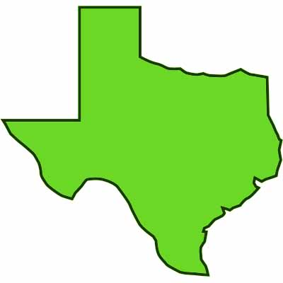 400x400 Texas Outline Outline Texas Clipart