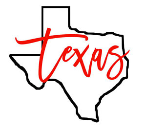 340x270 Outline Of Texas Etsy