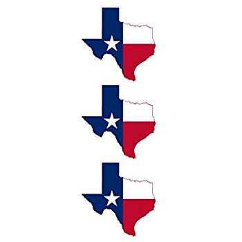 350x350 Texas Outline Sticker Self Adhesive Vinyl Decal Tx