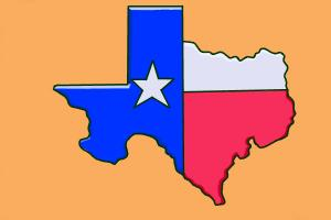 300x200 How To Draw Texas