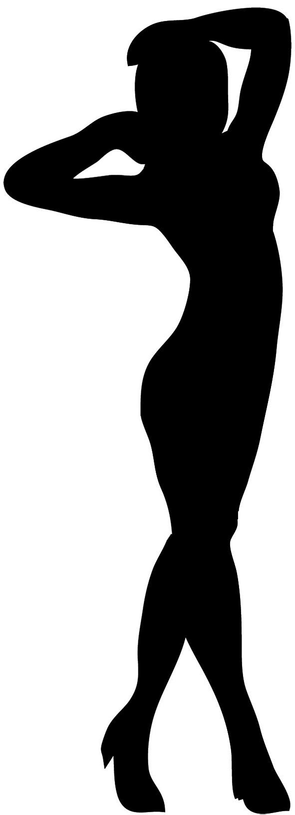 Girl Silhouette at GetDrawings | Free download