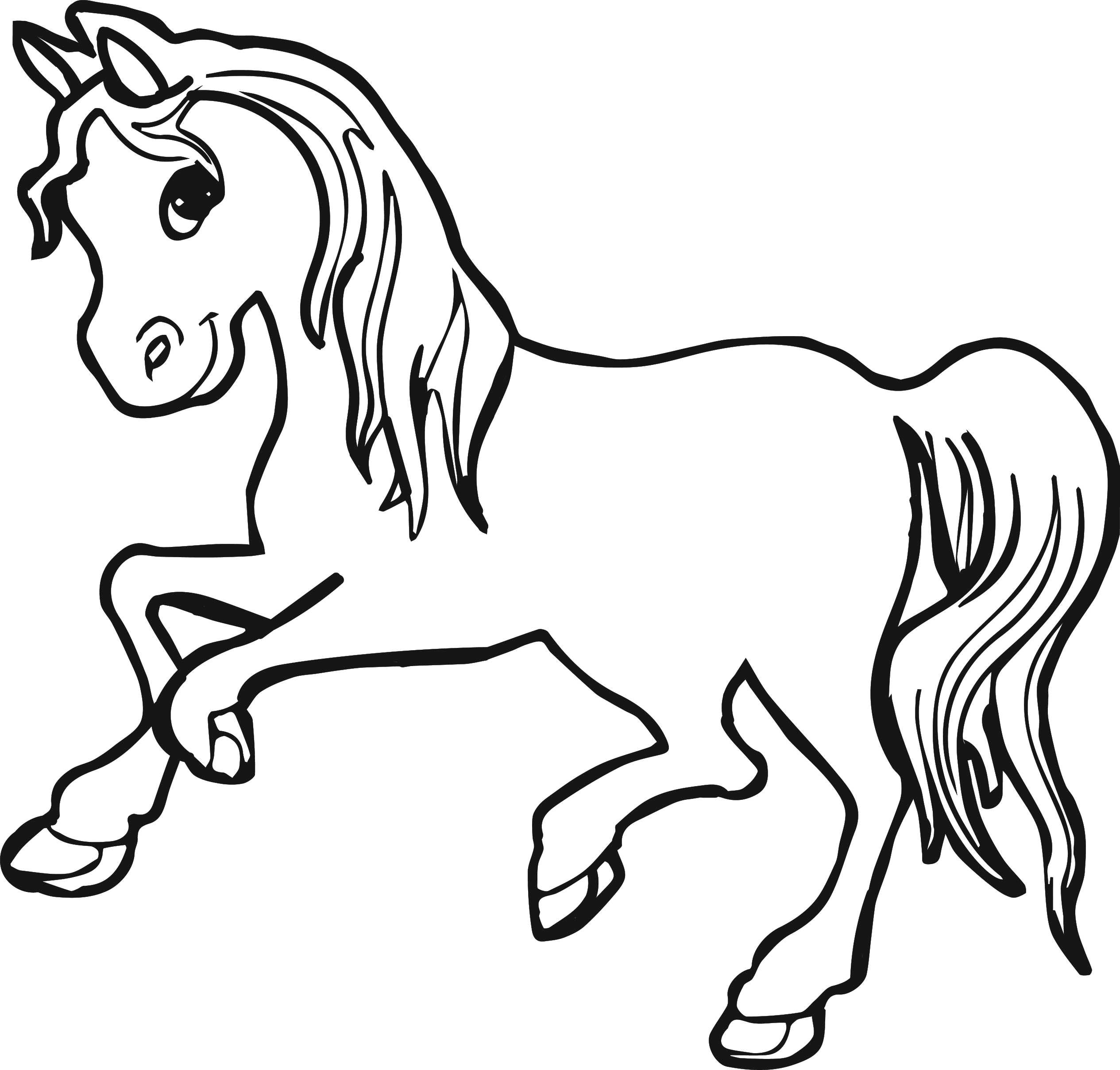 2530x2416 Animal Horse Outline Horse Painting Games Pichers Of Horses