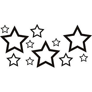 300x300 18 Best Star Tattoo Outline Images Star Tattoos