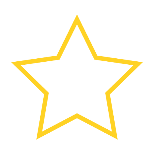 512x512 Star Favorite Outline Icon