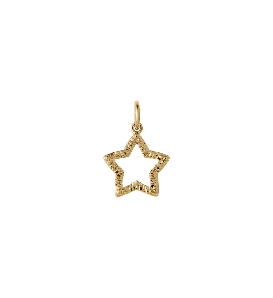 939x1024 Tiny Star Outline (18k Gold Plated) Kirstin Ash