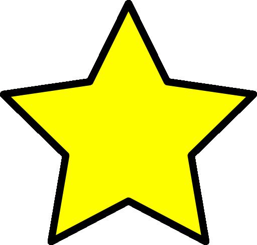 512x488 Star Clipart Star Clip Art