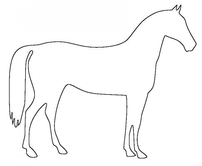 650x534 93 best Craft outline horses images Drawings, Art