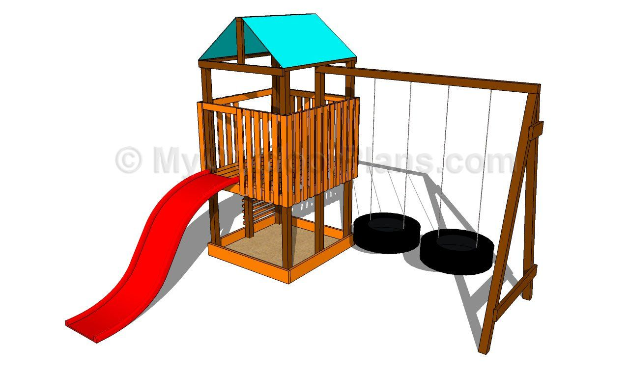 1280x756 Outdoor Playset Plans Free Outdoor Plans