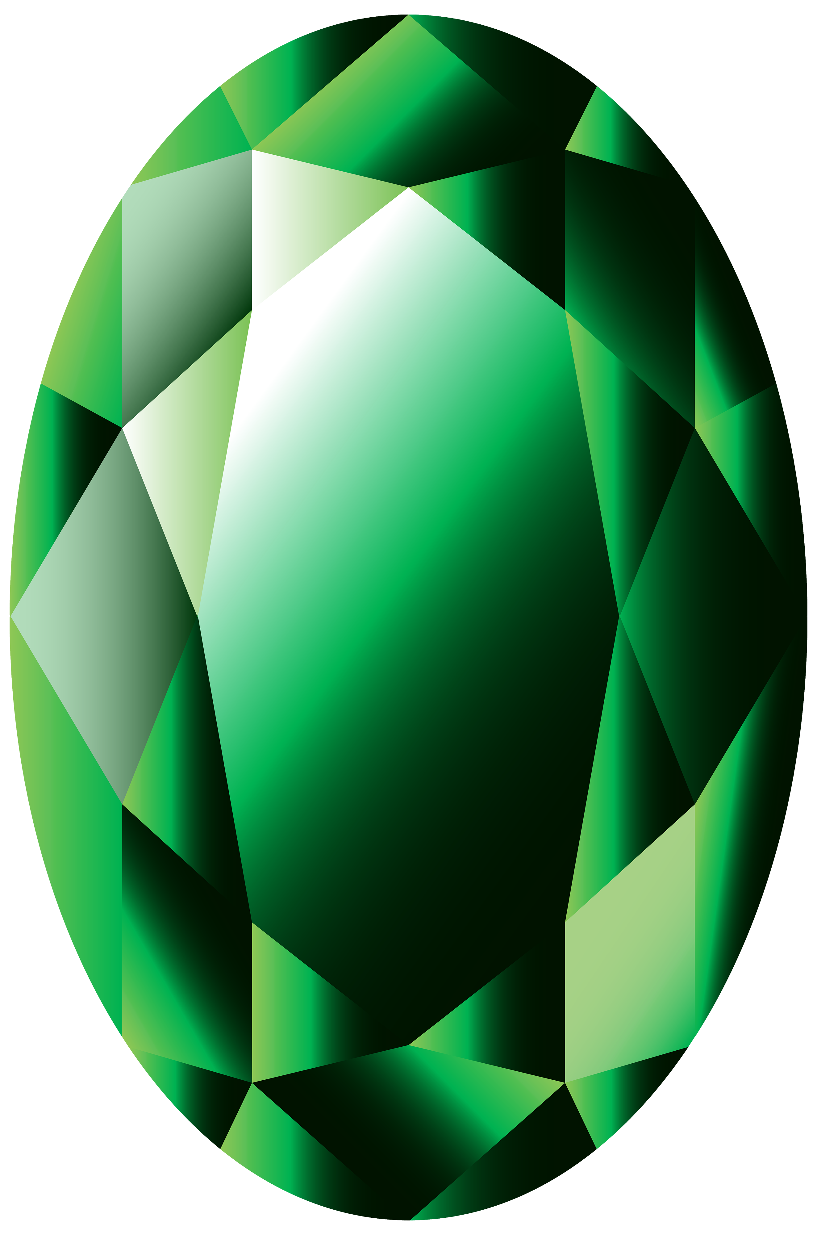 2647x4000 Oval Emerald Png Clipart