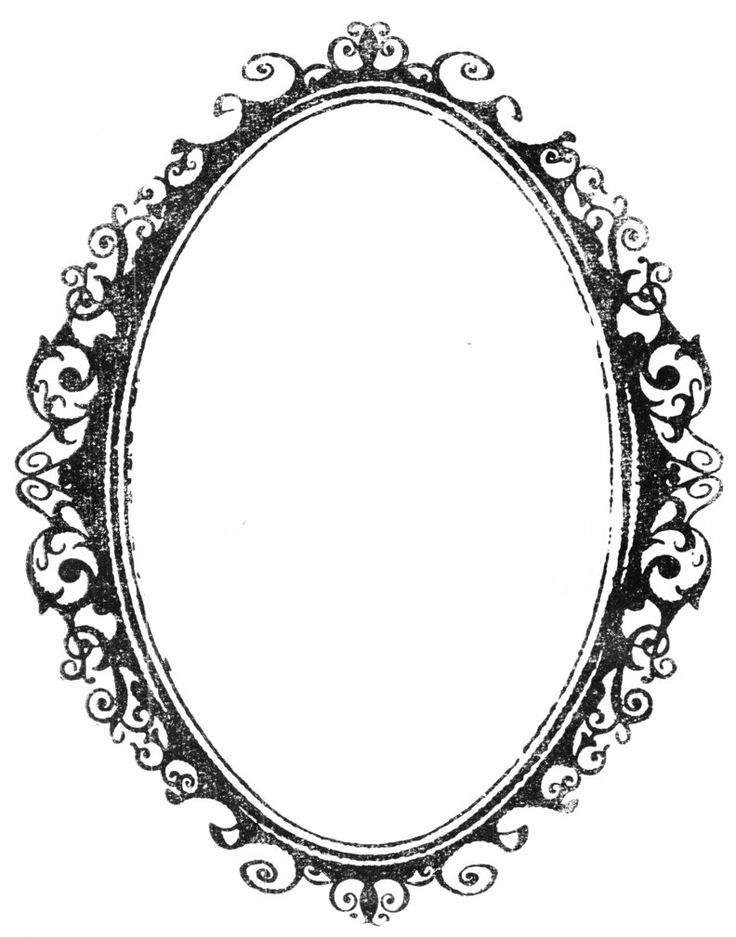Oval Frame Clipart