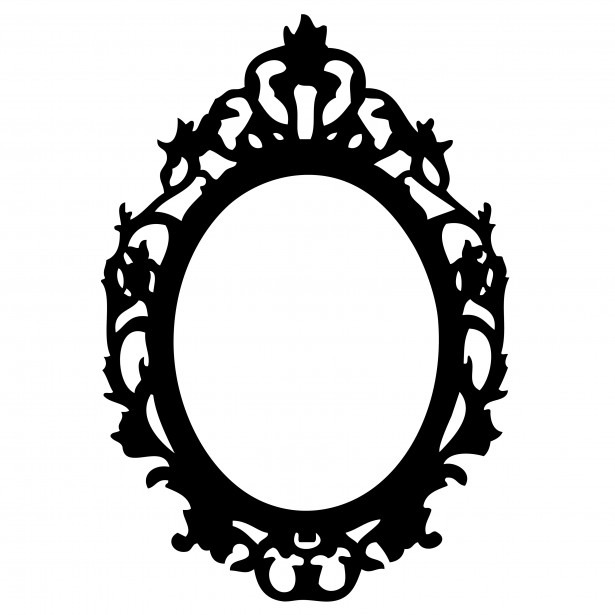 615x615 Ornate Black Frame Clipart Free Stock Photo Public Domain Pictures