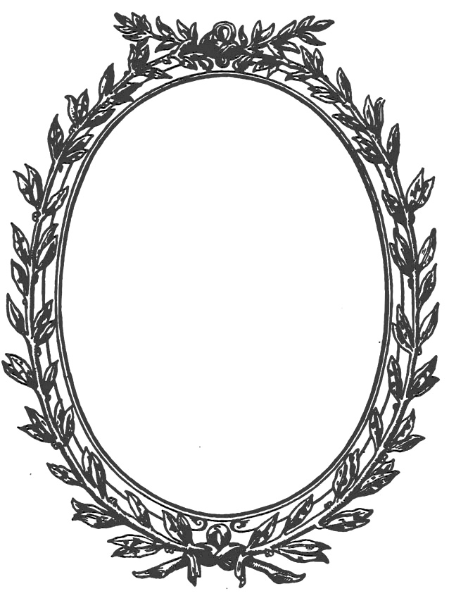 Oval Frame Clipart | Free download on ClipArtMag