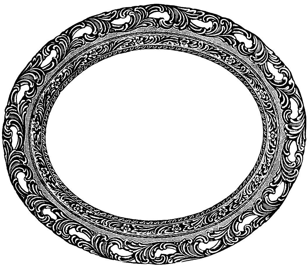 1058x918 Vintage Oval Frame Clip Art Image Oh So Nifty Vintage Graphics