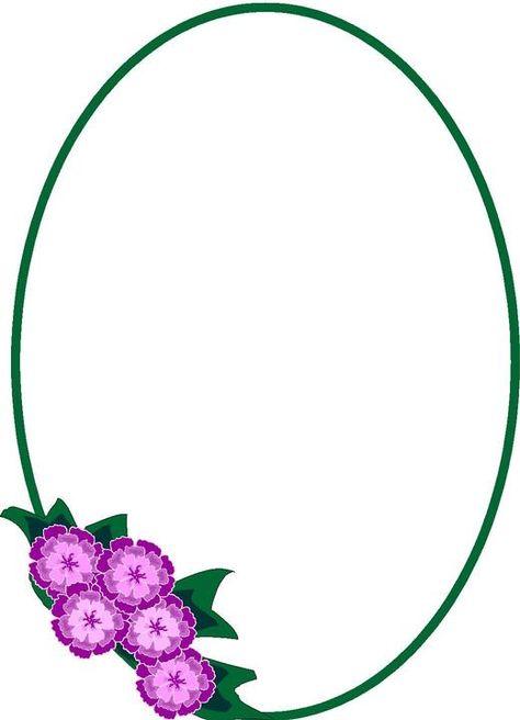 474x656 Httpabj Frames.blogspot.se201207pretty Oval Frames Clip Art