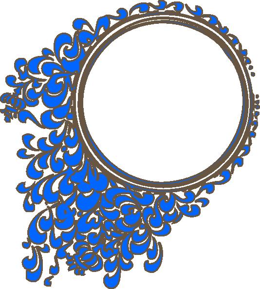 534x594 Oval Frame Clip Art