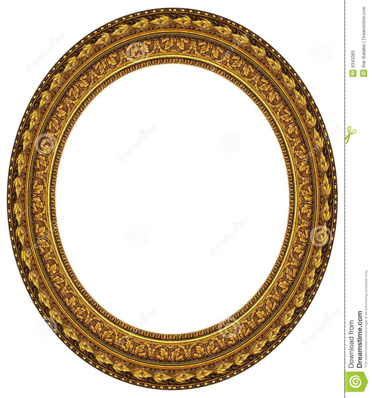 1215x1300 Round Gold Picture Frame Image Collections