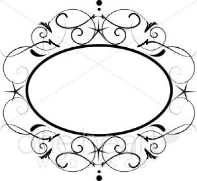 vintage frame design oval. 400x368 Vintage Frame Clip Art The Best Home Decor Borders For Labels Design Oval