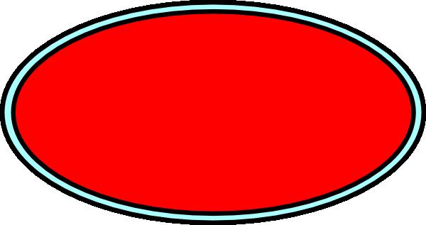 600x317 Red And Aqua Oval Clip Art