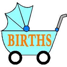 220x220 Birth Announcement Clipart