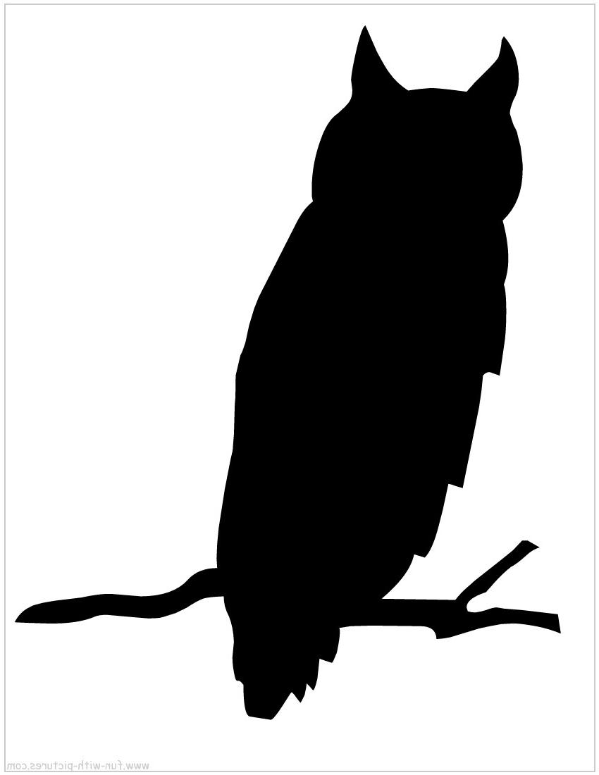 850x1100 Hd Silhouette Clip Art Free Clipart Owl Images