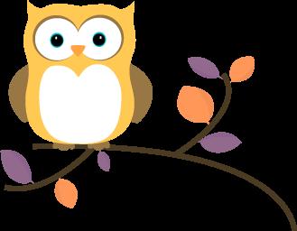 329x256 Owl Clip Art