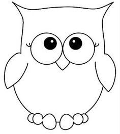 236x265 Owl Clipart Outline