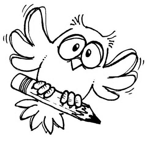 480x467 Best Owl Clipart Black And White