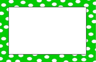 320x207 Pink And White Polka Dot Border Clip Art