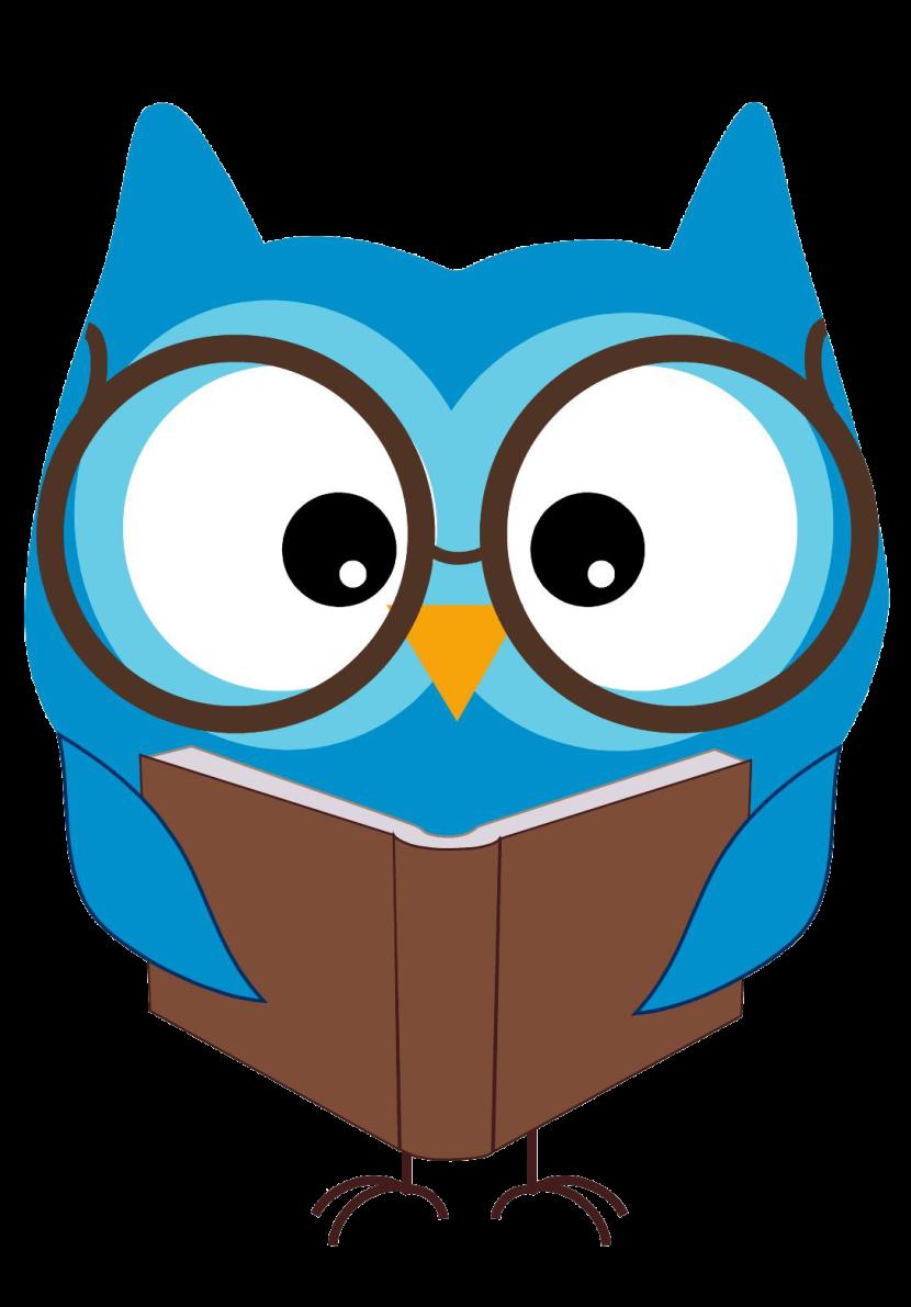 830x1191 Owl Math Clipart
