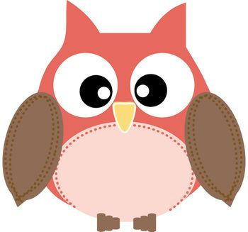 350x327 Colors Clipart Owl