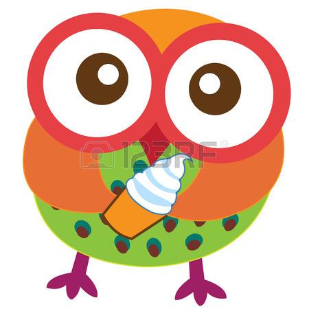 450x450 Happy Owl Cartoon Royalty Free Cliparts, Vectors, And Stock