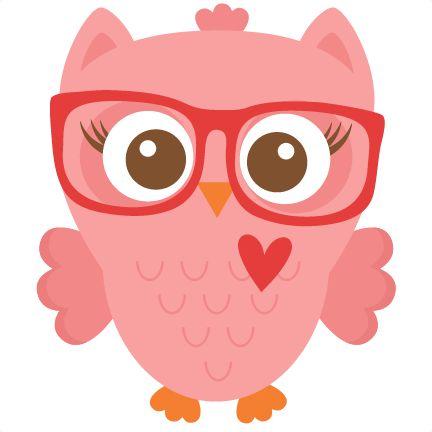 432x432 Ideas About Owl Clip Art On Cartoon Pink 4